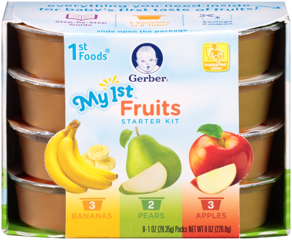 Gerber First Stage Baby Food