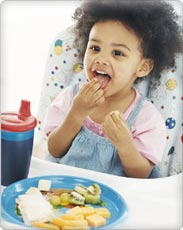 The Transition to Table Foods and Toddler Nutrition